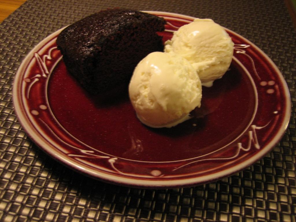 Tofurky Feast Chocolate Cake