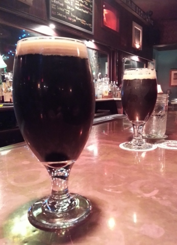 Benji's Smoked Chipotle Porter at The Mason. Photo by The Conscientious Omnivore (CC BY-NC-ND 3.0)